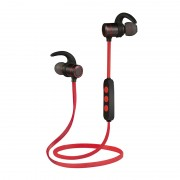 BM-8 Lightweight Magnetic Attraction Sports Stereo Bluetooth Earphone Headset for iPhone Samsung Huawei Etc. - Red