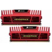 Corsair 16 GB DDR3-RAM - 1600MHz - (CMZ16GX3M2A1600C10R) Corsair Vengeance Red Kit CL10