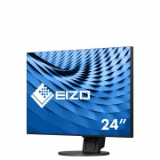 EIZO Monitor LCD 238' EV2451-BK, Wide (16:9), IPS, LED, FlexStand 4, black
