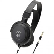 Audio-Technica - SonicPro ATH-AVC200 Wired Over-the-Ear Headphones - Black