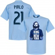 Retake Pirlo No.21 King of New York T-shirt - hellblau - XL