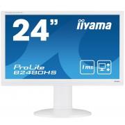 "iiyama ProLite B2480HS-W2 23.6"" Full HD TN Matt White Flat computer monitor LED display"