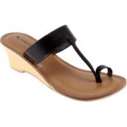Urban Country Women BLACK Wedges