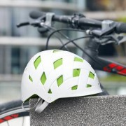 Bicycle Helmet Rockwell Urban, L/XL - White/Lime