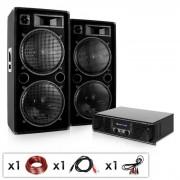 "Electronic-Star DJ PA пакет ""MARAKESH LOUNGE"" комплект тонколони & усилвател (Phuket-Pulsar)"