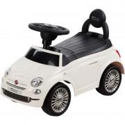 Masinuta fara pedale Fiat 500 Sun Baby, suporta maxim 25 kg, 12 luni+, alb