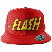The Flash Text Logo Snapback Cap