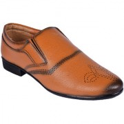 BB LAA Tan Men's Slip-on Formal Shoes