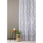Fehér bordűrös jaquard kész függöny 9018/255/0016/Cikksz:01130912