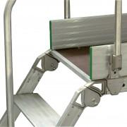 Facal Diva Überstieg 60° Plattform 90x53cm 7 Stufen