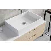 LAVABO SOLID SURFACE SQUARE. ANYWAYSOLID -