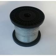 Linka stalowa ocynk. fi.1,5 mm, 200mb.