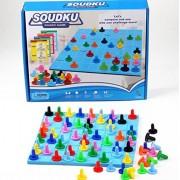 Sudoku Board Game Elementary School Student Algorithm Color by Sudoku Puzzle SUDOKU Puzzle Nanpre Brain Train IQ Numerals Detective Game Brain Power Development Children Educational Toys Numbers Puzzle Games IQ Training (Color by Sudoku)