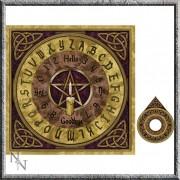 dekoráció (jósló tábla) Ouija Board - NOW9958