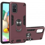 Para Samsung Galaxy A71 PC + Funda de TPU