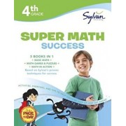4th Grade Jumbo Math Success Workbook: Activities, Exercises, and Tips to Help Catch Up, Keep Up, and Get Ahead, Paperback/Sylvan Learning