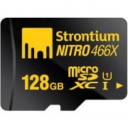 Cartão de Memória MicroSDXC Strontium Nitro 466X SRN128GTFU1R - 128GB