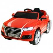 vidaXL Електрически детски автомобил Audi Q7, червен, 6 V