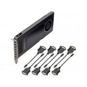NVIDIA Tarjeta Gráfica nVidia PNY QUADRO NVS 810 4GB GDDR3