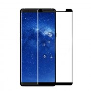 Folie Sticla 3D (Case Friendly) Samsung Galaxy Note 8 Neagra Protectie Ecran Antisoc Tempered Glass