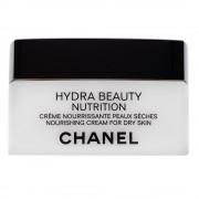 Chanel Hydra Beauty Nutrition Crème hydratační krém pro velmi suchou a citlivou pleť 50 g