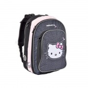 Ghiozdan anatomic Hello Kitty Black