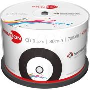 PRIM 2761107 - CD-R 80Min/700MB, 50-er Cakebox