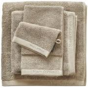 Marc O' Polo Luxusní froté ručník, koupací ručník, bavlna, béžová barva, 30x50 cm