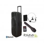 Ibiza Sistema Portátil com Bateria PORT 225 VHF BT