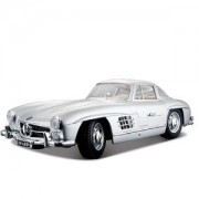 Детска играчка, Bburago Plus - Модел на кола Mercedes-Benz 300SL 1/18, 0931433