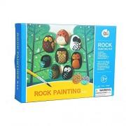Jar Melo Painting Rock Kit; Non-Toxic; Rock Art; Creative Colorful Magic Stone; Christmas Gift; Xmas Gifts