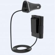 Devia iBox Car Hub USB Charger 6.8A - зарядно за кола (6.8A) с 4xUSB порта за мобилни устройства (черен)