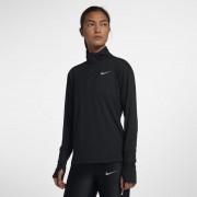 Haut de running demi-zippé Nike Element pour Femme - Noir