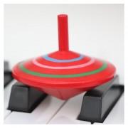 Padre Hijo De Madera DIY Puzzle Toy Mini Rotating Gyro, Tamaño: 6 * 6cm