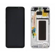 Ecran Display cu rama Samsung Galaxy S8 Plus G955f Silver