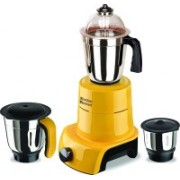 SilentPowerSunmeet MG17-MAC-Gla-56 800 W Mixer Grinder(Yellow, 3 Jars)