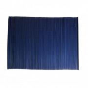 Dille&Kamille Set de table, bambou, bleu foncé, 33 x 47 cm
