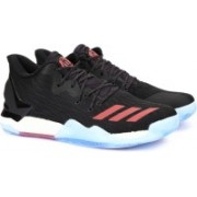 Adidas D ROSE 7 LOW Basketball Shoes For Men(Black)