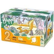 BELLA Baby Happy Mini doboz 2-es méret (156 db)