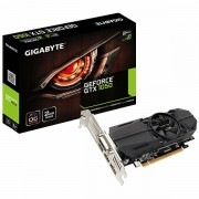 GIGABYTE Video Card GeForce GTX 1050 GDDR5 2GB/128bit, 1366MHz/7008MHz, PCI-E 3.0 x16, 2xHDMI, DVI-D, DP, VGA Cooler Double Slot, Low-profile, Retail GV-N1050OC-2GL