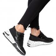 Pantofi sport dama Sendee, Negru 41
