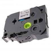 Printflow Compatível: Fita laminada Brother TZe-231 texto preto sobre branco 12mm x 8m(TZ-231)