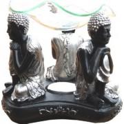 Lampa aromoterapie neagra 3 Buddha ganditor