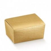 Ballotin de chocolat vide 125g 10.3x6.7x4.5(h)cm - pack de 100 unit