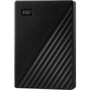 Hard disk extern WD My Passport 5TB USB 3.2 2.5 inch Black