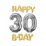 Vegaoo.se Happy 30th Birthday - Jätteballong i aluminium