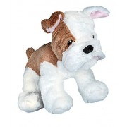 """Recordable 8"""" Plush Tank The Bulldog w/20 Second Digital Recorder for Special Messages, Rymes Or Songs"""