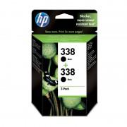 HP 338 Pack de 2 Tinteiros Pretos