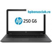 "Laptop HP 250 G6 (Procesor Intel® Core™ i5-7200U (3M Cache, up to 3.10 GHz), Kaby Lake, 15.6"" FHD, 8GB, 256GB SSD, AMD Radeon 520@2GB, Wireless AC, Argintiu-Cenusiu)"