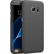 Husa Fullbody MyStyle Black pentru Samsung Galaxy S7 Edge acoperire completa 360 grade cu folie de protectie gratis
